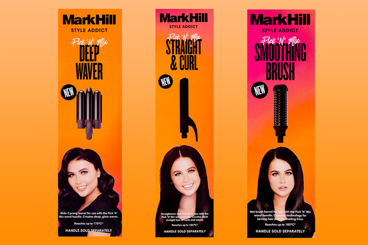 Mark Hill announces three NEW hair tools in award-winning Pick N Mix range – and they've been chosen by you
