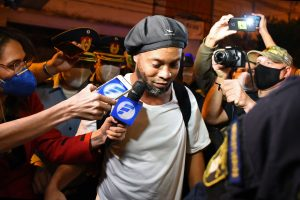 Ronaldinho to be released from four-month house arrest after fake passport sentence