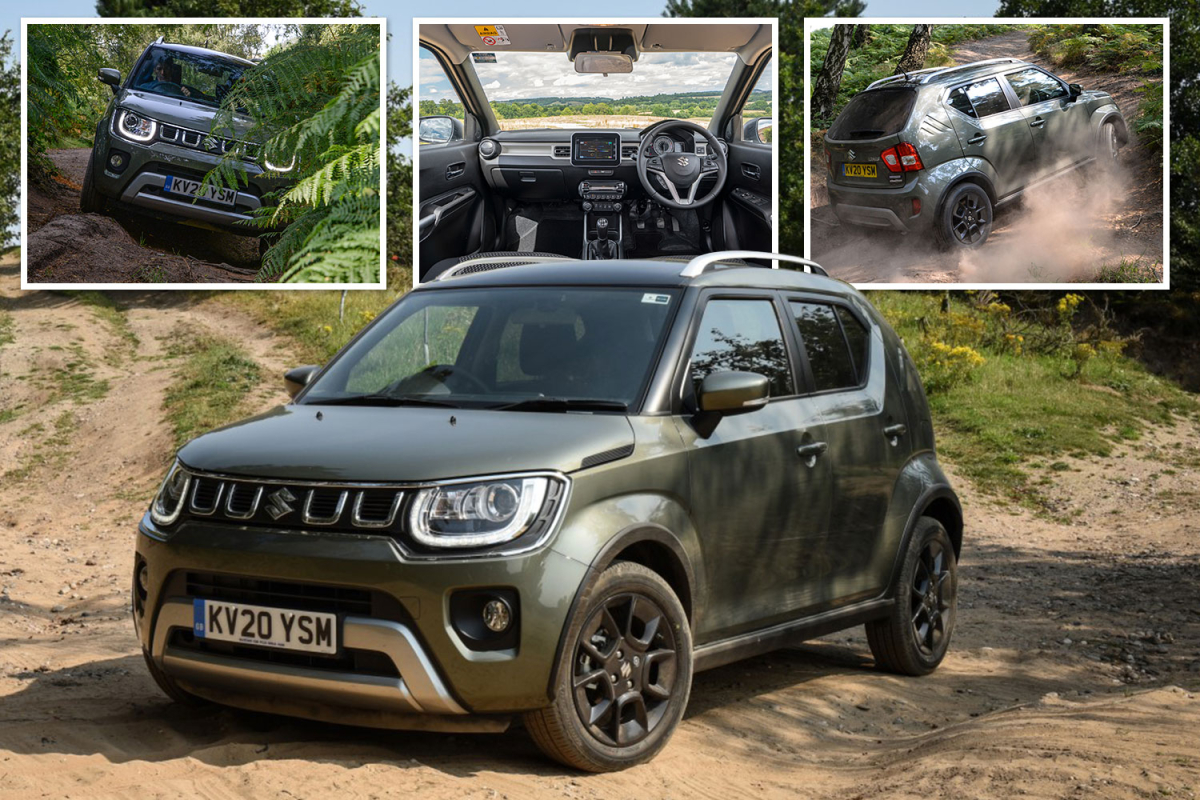 Suzuki's Ignis is not a big 4X4 but it is a clever little box