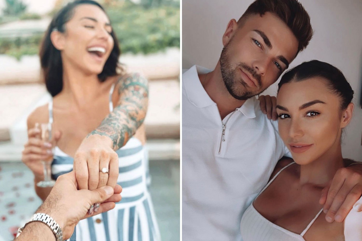 The Challenge's Kailah Casillas engaged to Love Island's Sam Bird as she gushes she's marrying her 'favorite person'