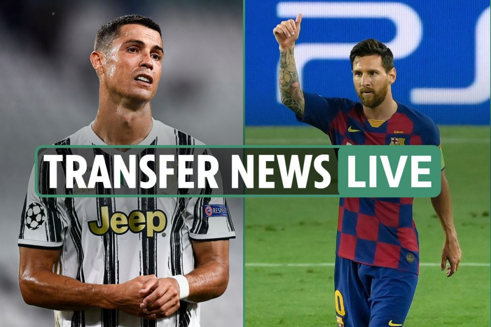 Transfer news LIVE: Cristiano Ronaldo shock 'offered to Barcelona' – latest Leeds, Liverpool, Spurs, Man City gossip