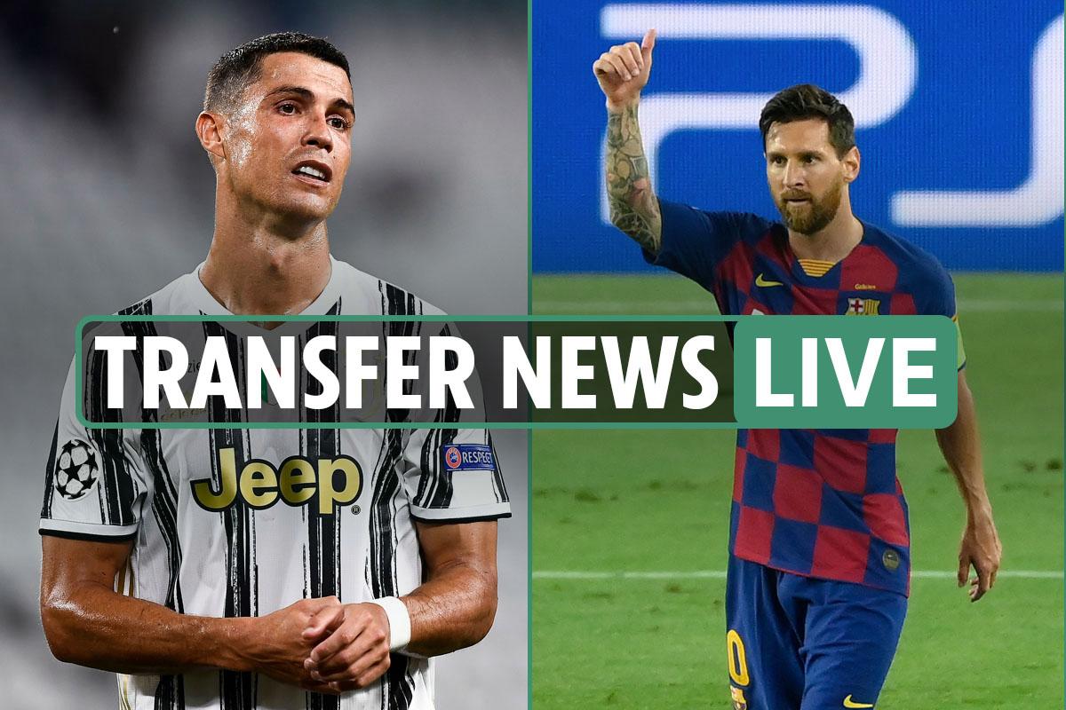 Transfer news LIVE: Cristiano Ronaldo shock 'offered to Barcelona' – latest Leeds, Liverpool, Spurs, Man City gossip