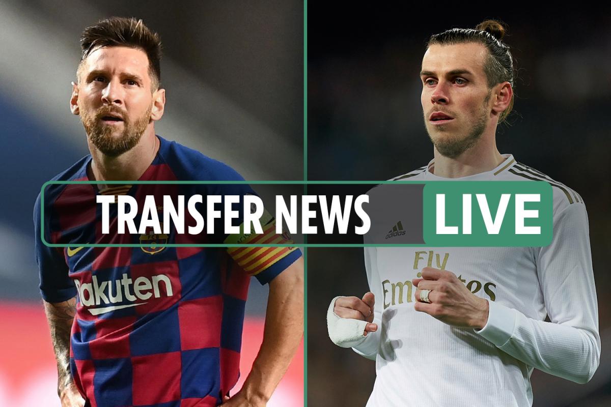 Transfer news LIVE: Messi 'doesn't see future at Barcelona', Tottenham want Gareth Bale, Real Madrid eye Lukaku – latest