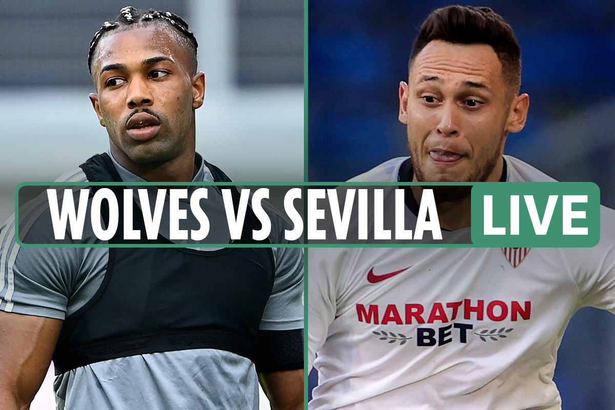 Wolves vs Sevilla LIVE: Stream, TV channel, kick-off time, team news for Europa League match