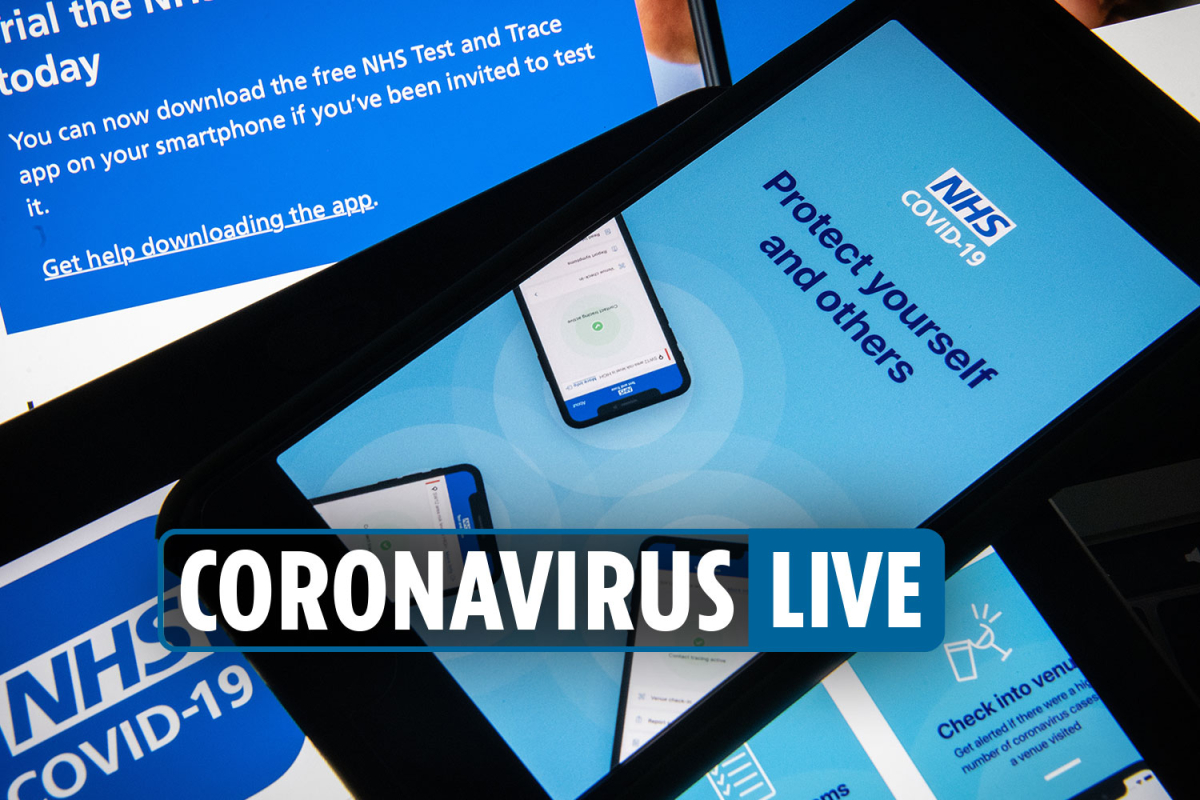 00:30am Coronavirus UK latest – Contact tracing app to launch in September as Portugal put on quarantine list