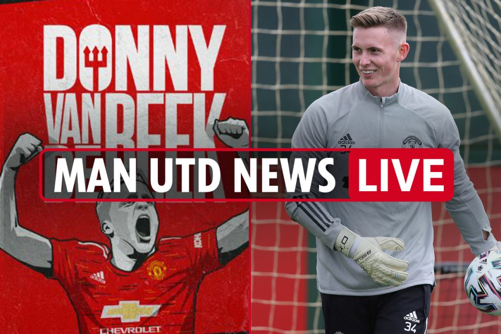 10.45pm Man Utd transfer news LIVE: Van de Beek SIGNS, Dean Henderson expects to be no.1, Upamecano LATEST