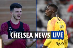 10am Chelsea transfer news LIVE: Edouard Mendy MEDICAL, Rice 'must request Blues move', Kante 'not holding midfielder'