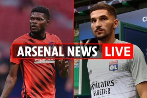 10pm Arsenal transfer news LIVE: Aouar 'contract AGREED' LATEST, Partey second priority, Mustafi exit 'gaining momentum'