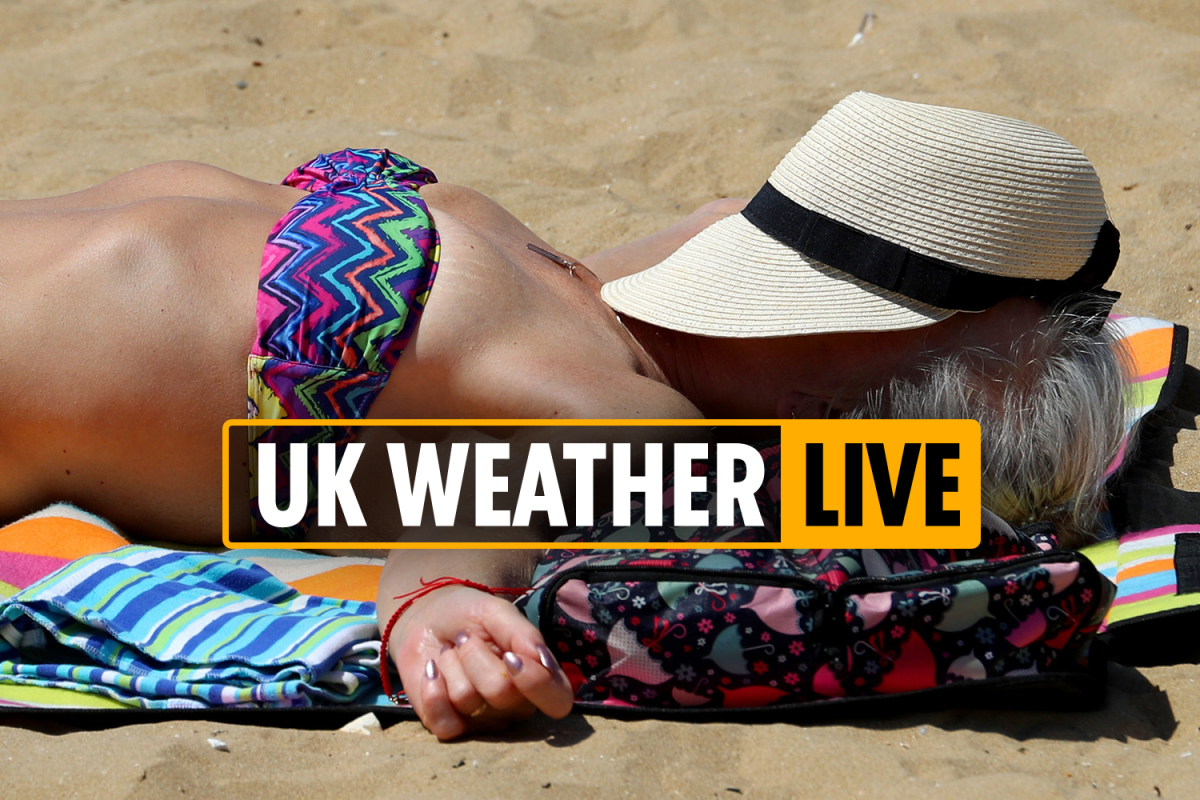 2PM UK weather forecast – September could be hottest on record, say bookies with Brits to bask in 25C next week – LIVE