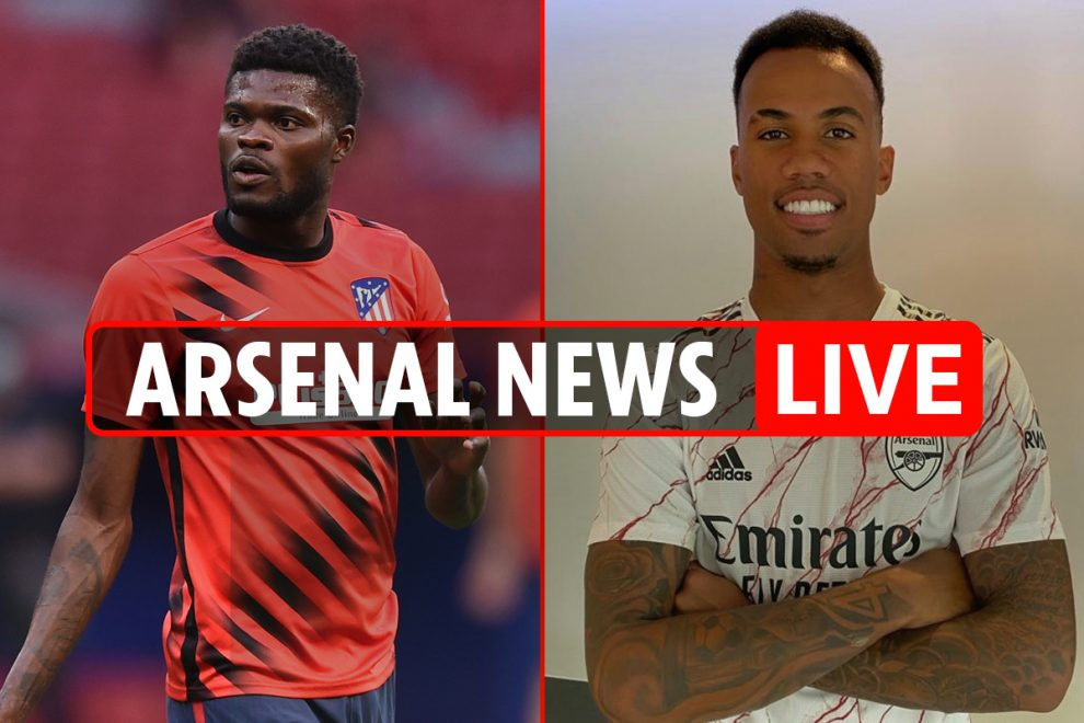 2pm Arsenal transfer news LIVE: Thomas Partey LATEST, Ceballos LOAN, Bellerin 'to join PSG', Aubameyang new contract