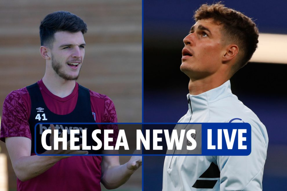 2pm Chelsea transfer news LIVE: Rice 'agrees five-year deal and will request move', 'Kepa loan', Jorginho could go