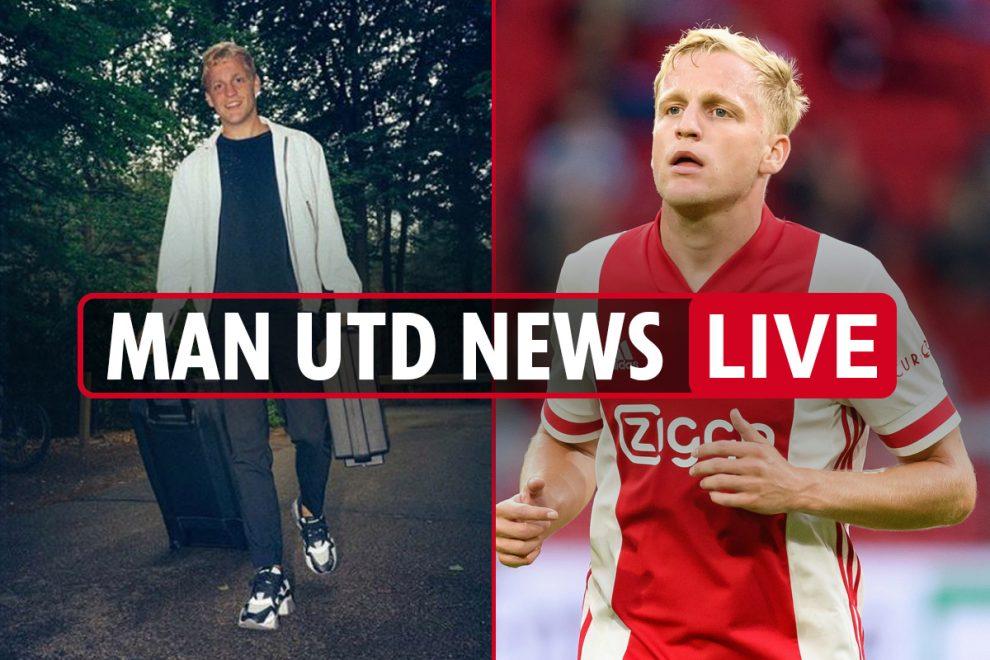 4pm Man Utd transfer news LIVE: Upamecano LATEST, Van de Beek COMPLETES MEDICAL, Sancho still keen on United
