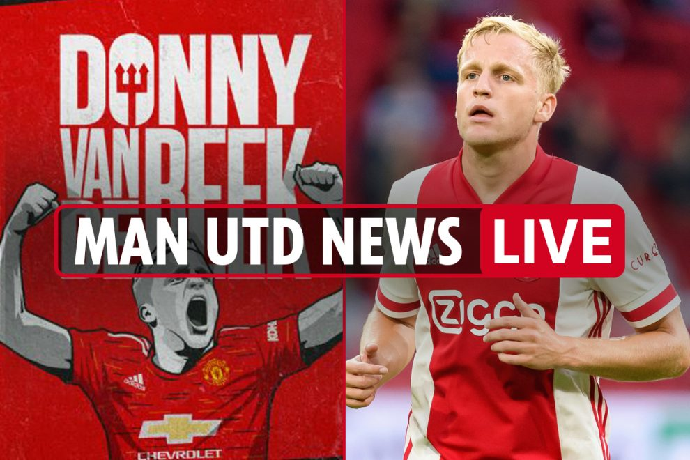5.45pm Man Utd transfer news LIVE: Van de Beek SIGNS, Dayot Upamecano LATEST, Thiago Alcantara talk