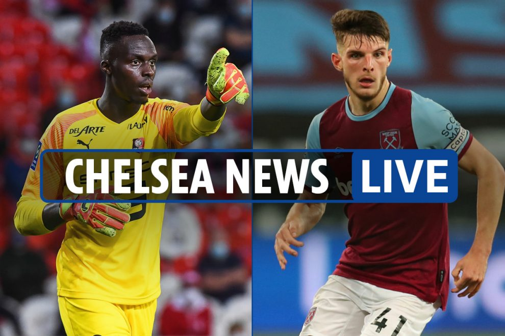 6am Chelsea transfer news LIVE: Rice 'not wanted by board', Thiago Silva and Chilwell train, 'Mendy-Tomori swap'