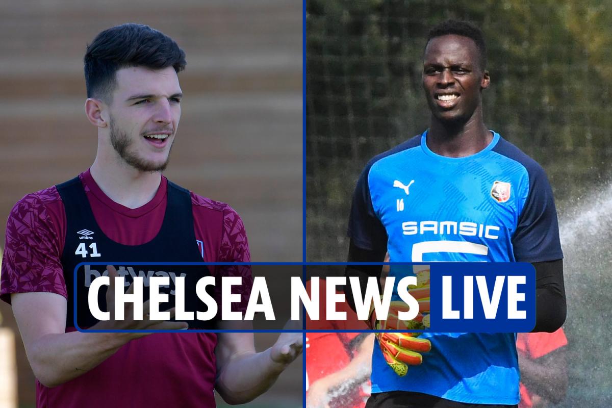 6pm Chelsea transfer news LIVE: Edouard Mendy DONE DEAL, Rice LATEST, Jorginho Arsenal link, Rudiger to PSG