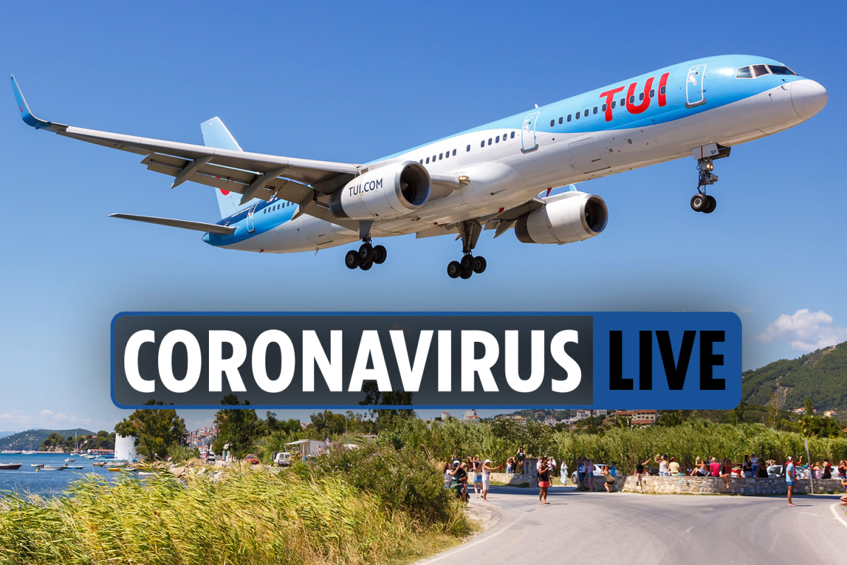 9am Coronavirus UK update – Greece holidays CANCELLED over quarantine latest & 'End of Lockdown' party fears