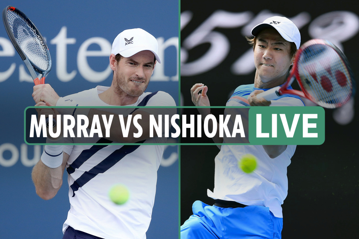 Andy Murray vs Yoshihito Nishioka LIVE SCORE: Nishioka BREAKS in fifth set – Stream free and TV channel