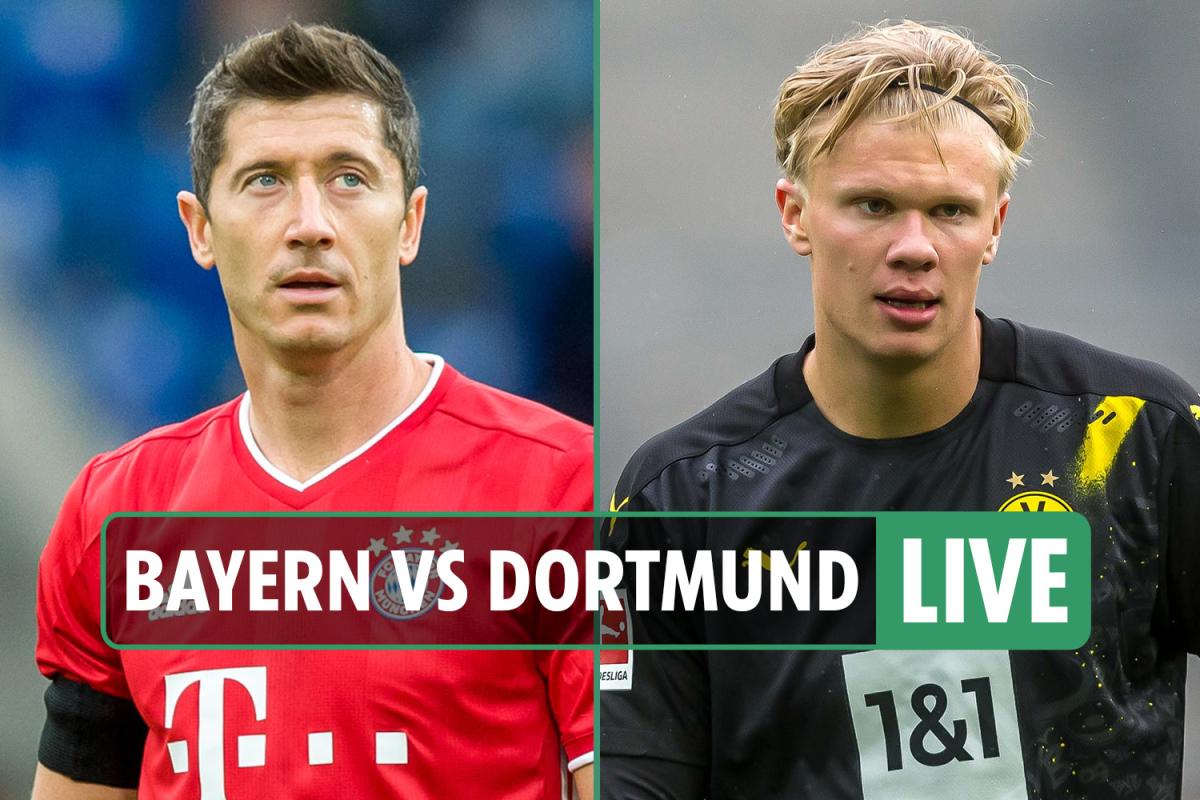 Bayern Munich 3 Dortmund 2 LIVE REACTION: Joshua Kimmich strike hands Bundesliga champions German Super Cup triumph