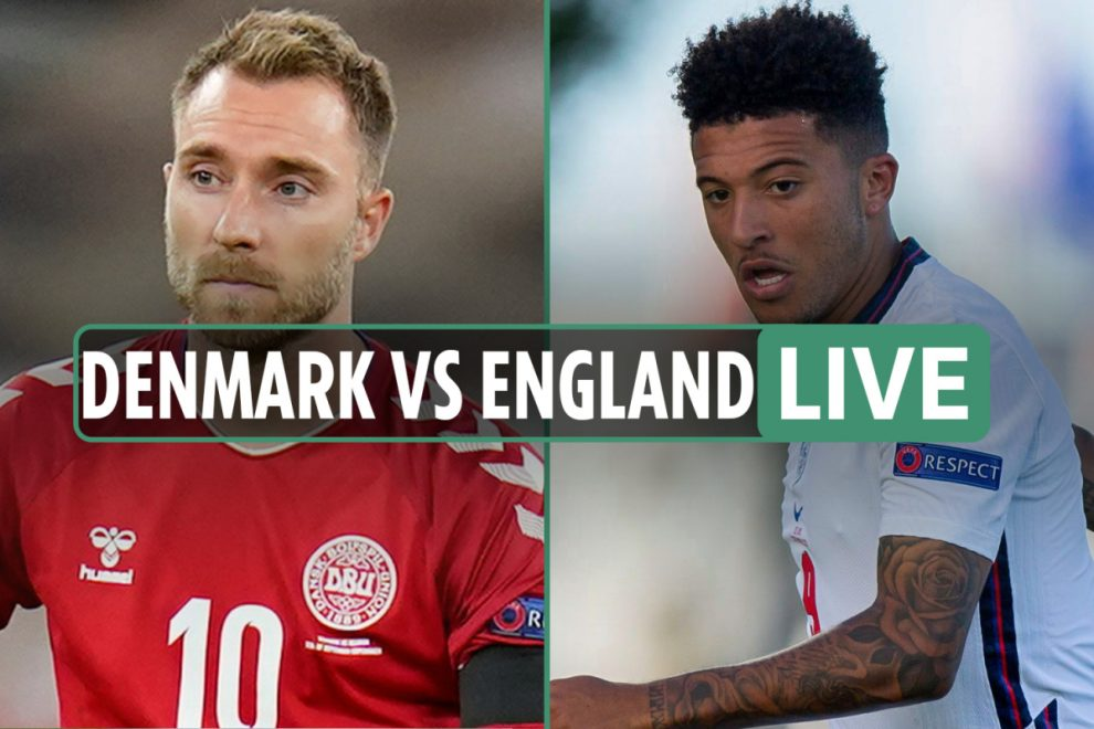 Denmark vs England LIVE: Stream, TV channel, teams as Phillips and Coady handed debuts – Nations League latest updates