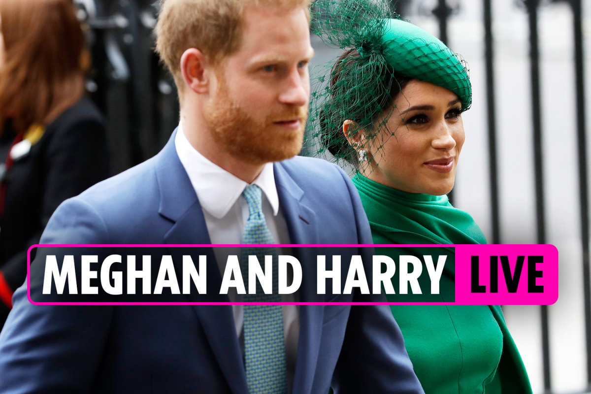 Harry and Meghan news – Fuming Brits demand pair are STRIPPED of royal titles after turning backs on UK – LIVE UPDATES
