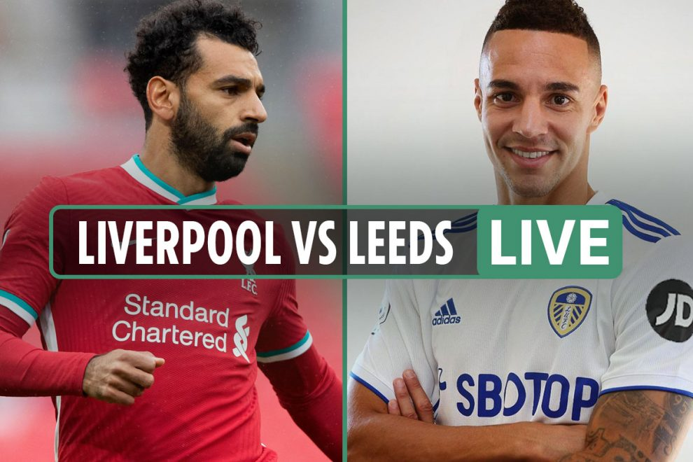 Liverpool vs Leeds: Live stream, TV channel, team news and kick-off time for Premier League TONIGHT – latest updates