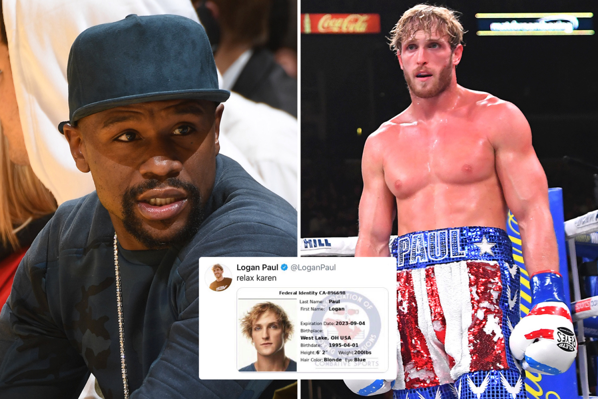 Logan Paul posts then deletes boxing licence pic after being called out by Conor McGregor's coach over Mayweather bout