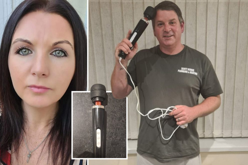 Mum buys 'head massager to tackle hair loss — unaware it's a 30-speed vibrator