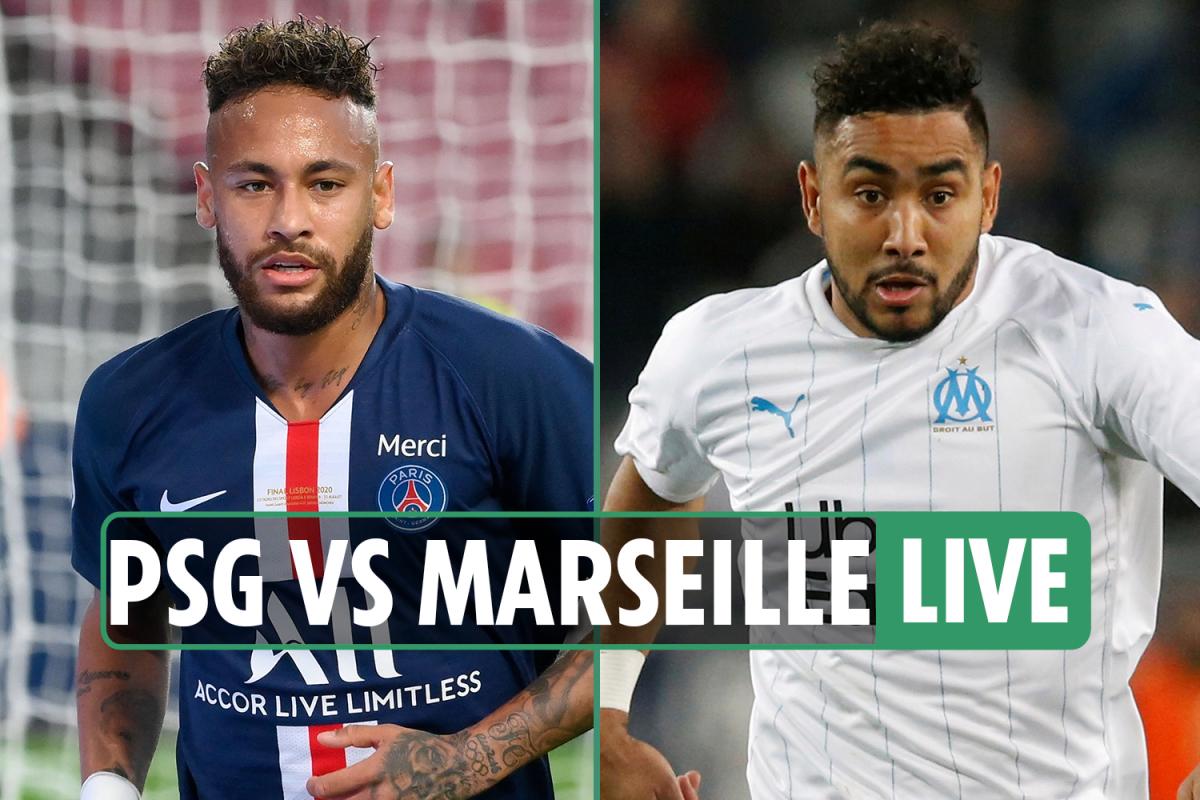 PSG vs Marseille LIVE SCORE: Thauvin strike has visitors ahead – stream FREE, TV channel, Ligue 1 latest updates