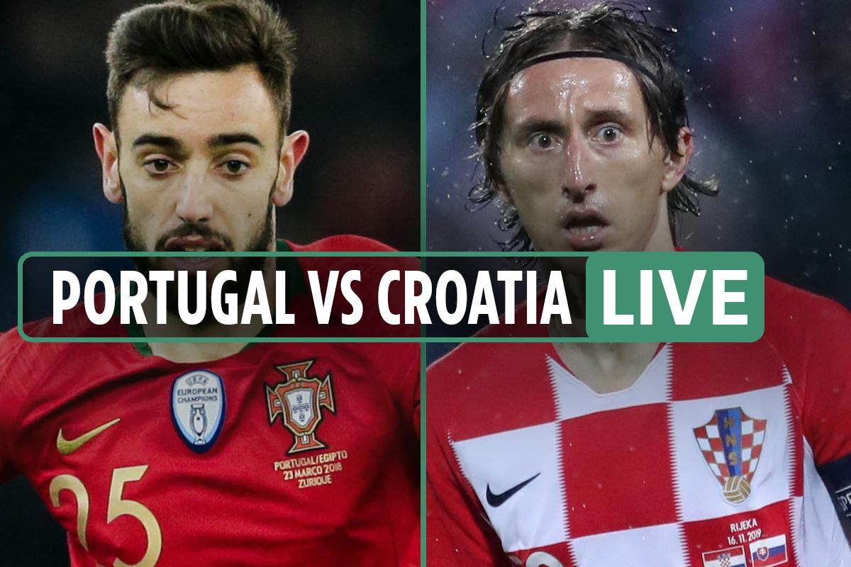 Portugal vs Croatia LIVE: Stream, score, TV channel as Cancelo and Jota both net – Nations League latest updates