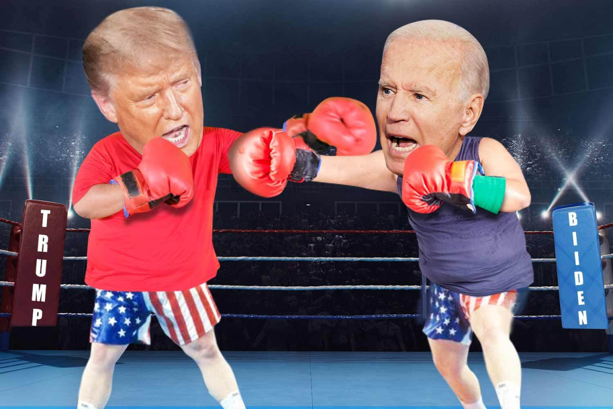 Presidential debate – Brawling Trump fought dirty with flurry of stinging blows on Biden that would make any boxer proud