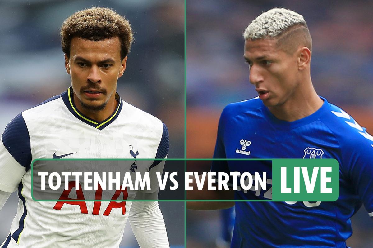 Tottenham vs Everton LIVE: Stream, score, TV info as Richarlison MISSES open goal – Premier League latest updates