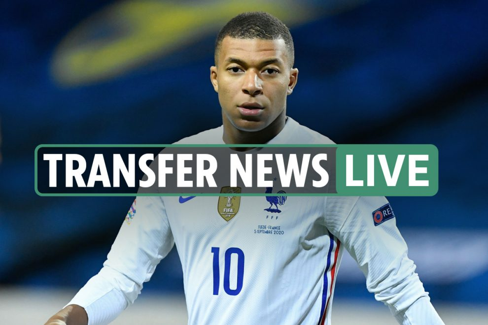 Transfer news LIVE: Mbappe 'ready to take PAY CUT to join Real Madrid', Barcelona want Depay, De Paul to Leeds LATEST