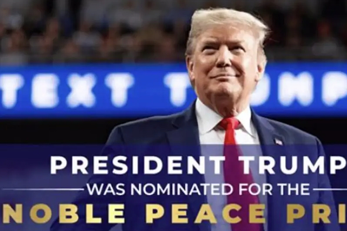 Trump campaign misspells 'Nobel' Peace Prize as NOBLE in ad to raise funds for his nomination