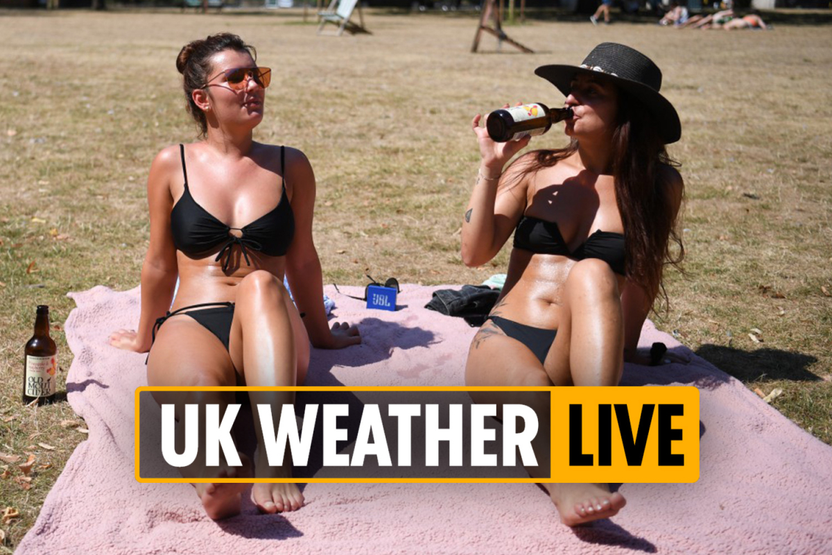 UK weather forecast 10am – Weather warnings in Scotland but South could see record September heatwave – LIVE UPDATES