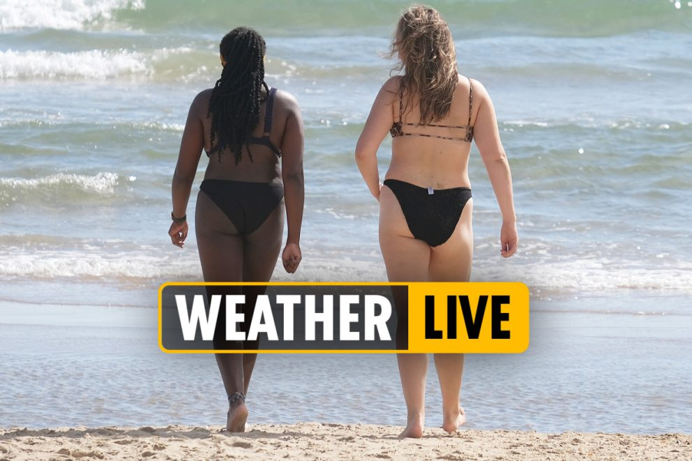 UK weather forecast 9am – 35C hottest September for 114 YEARS predicted as tropical plume hits – LIVE UPDATES