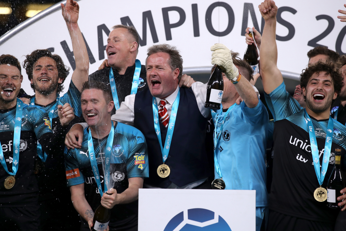 Who won Soccer Aid 2020, and how much money was raised for UNICEF in charity match?