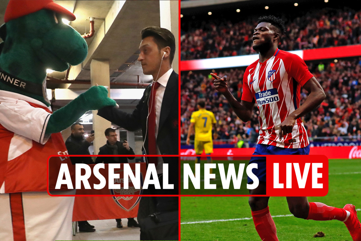11pm Arsenal transfer news LIVE: Partey slammed by Atleti fans, Ozil to PAY Gunnersaurus' wages, Aouar January BOOST
