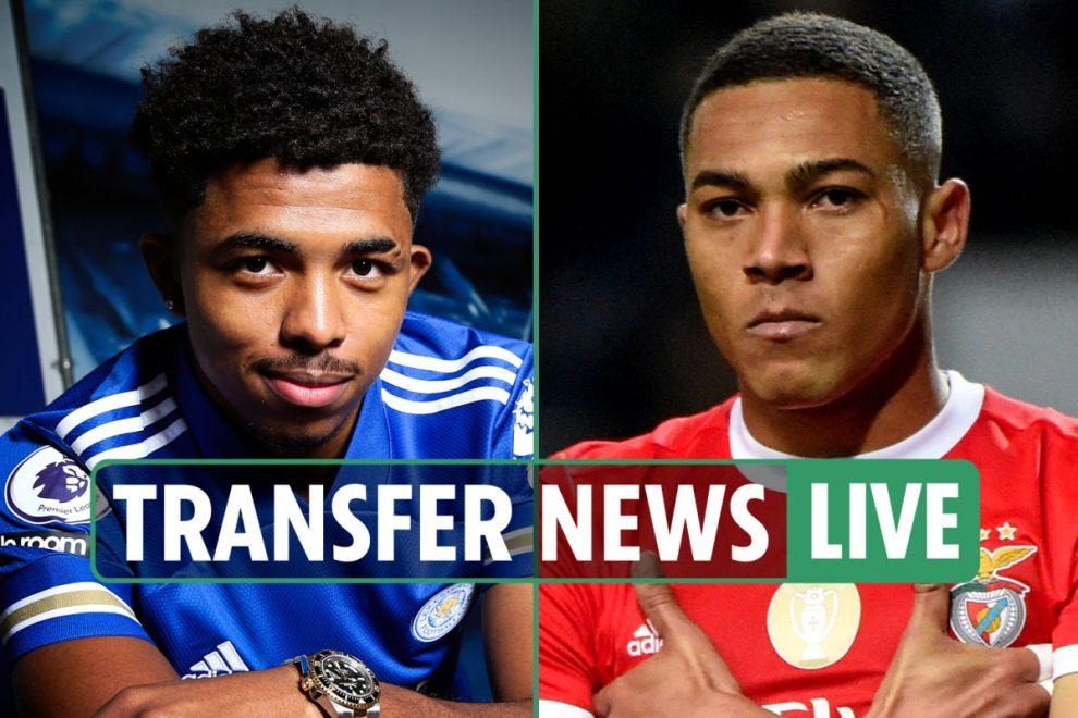2pm transfer news LIVE: Carlos Vinicius to Tottenham DONE, Klopp hints Shaqiri exit, Leicester land Fofana