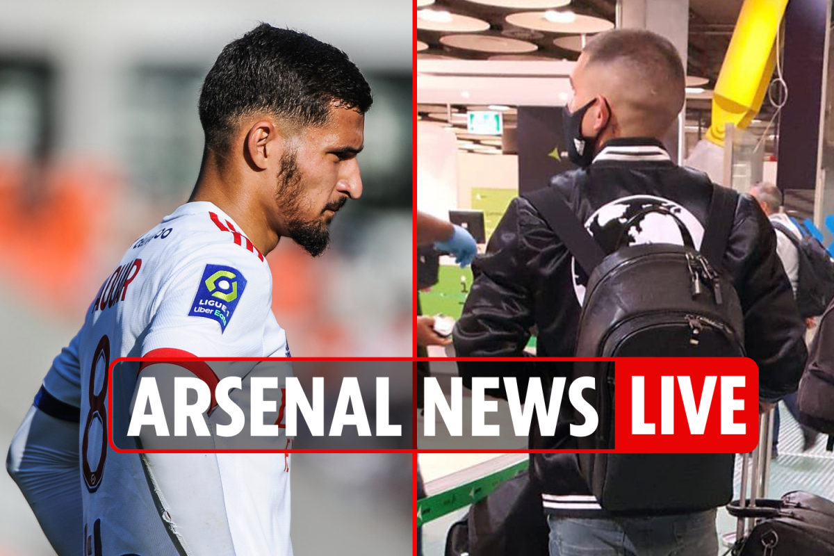 7.45pm Arsenal transfer news LIVE: Aouar's 'only option' is Gunners, Torreira PASSES Atletico medical, Partey LATEST