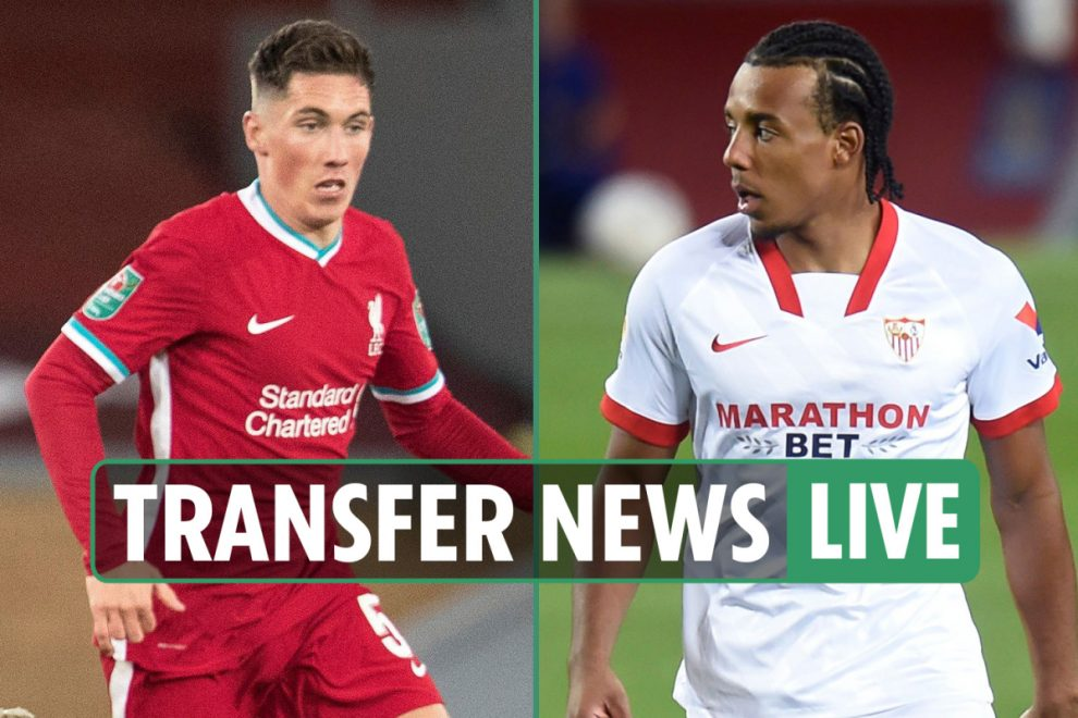 9pm Transfer news LIVE: EFL and Prem LATEST, Kounde to Man Utd, Wilson set for Liverpool exit, Clyne to Crystal Palace