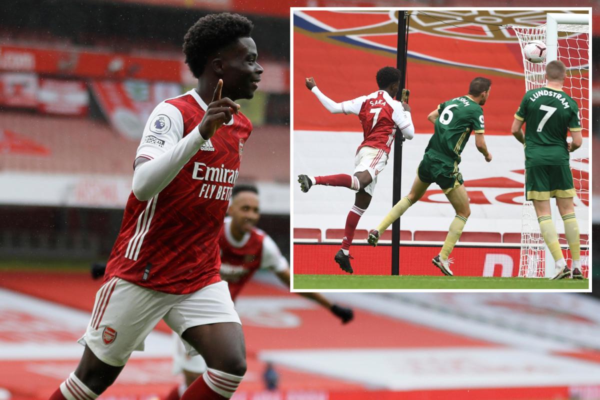 Arsenal vs Sheffield United LIVE SCORE: Saka, Pepe put Gunners ahead but McGoldrick pulls one back for Blades