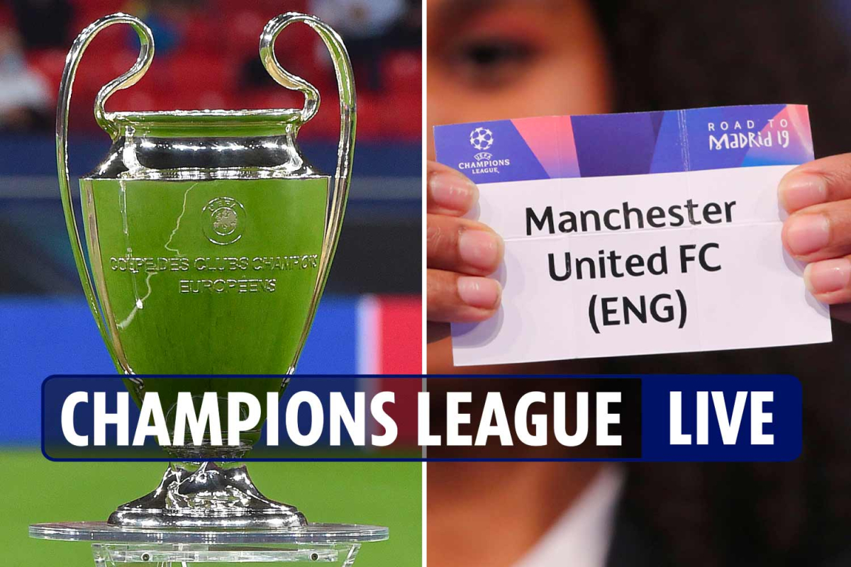Champions League draw LIVE REACTION: Man Utd with PSG and Leipzig, Liverpool play Ajax and Atalanta, Messi faces Ronaldo