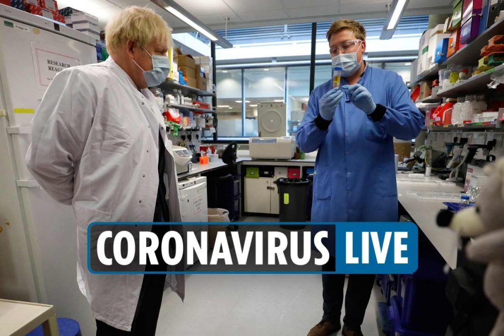 Coronavirus UK news – New STRICTER lockdowns that could ban all social contact and close pubs exposed in document leak