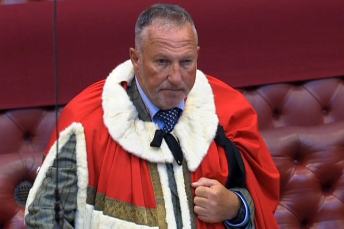 England cricket legend Sir Ian Botham sworn into House of Lords