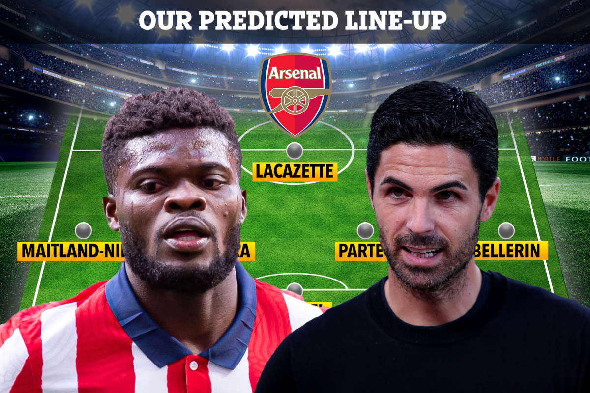 How Arsenal could line-up with Thomas Partey with Mikel Arteta changing midfield to fit Ghanaian in after £45m transfer