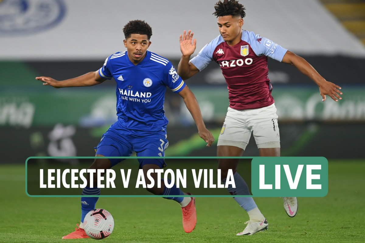 Leicester vs Aston Villa LIVE: Stream, TV channel, score – Vardy OUT for Foxes Box Office clash tonight