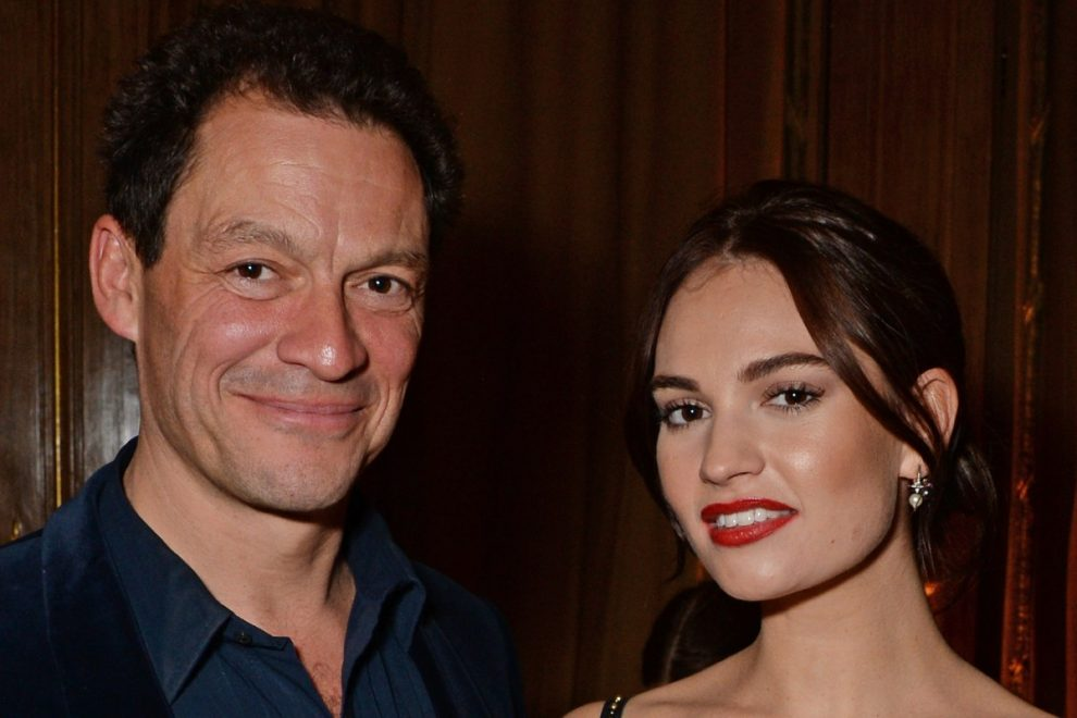 Lily James cancels Graham Norton appearance after kissing married co-star Dominic West