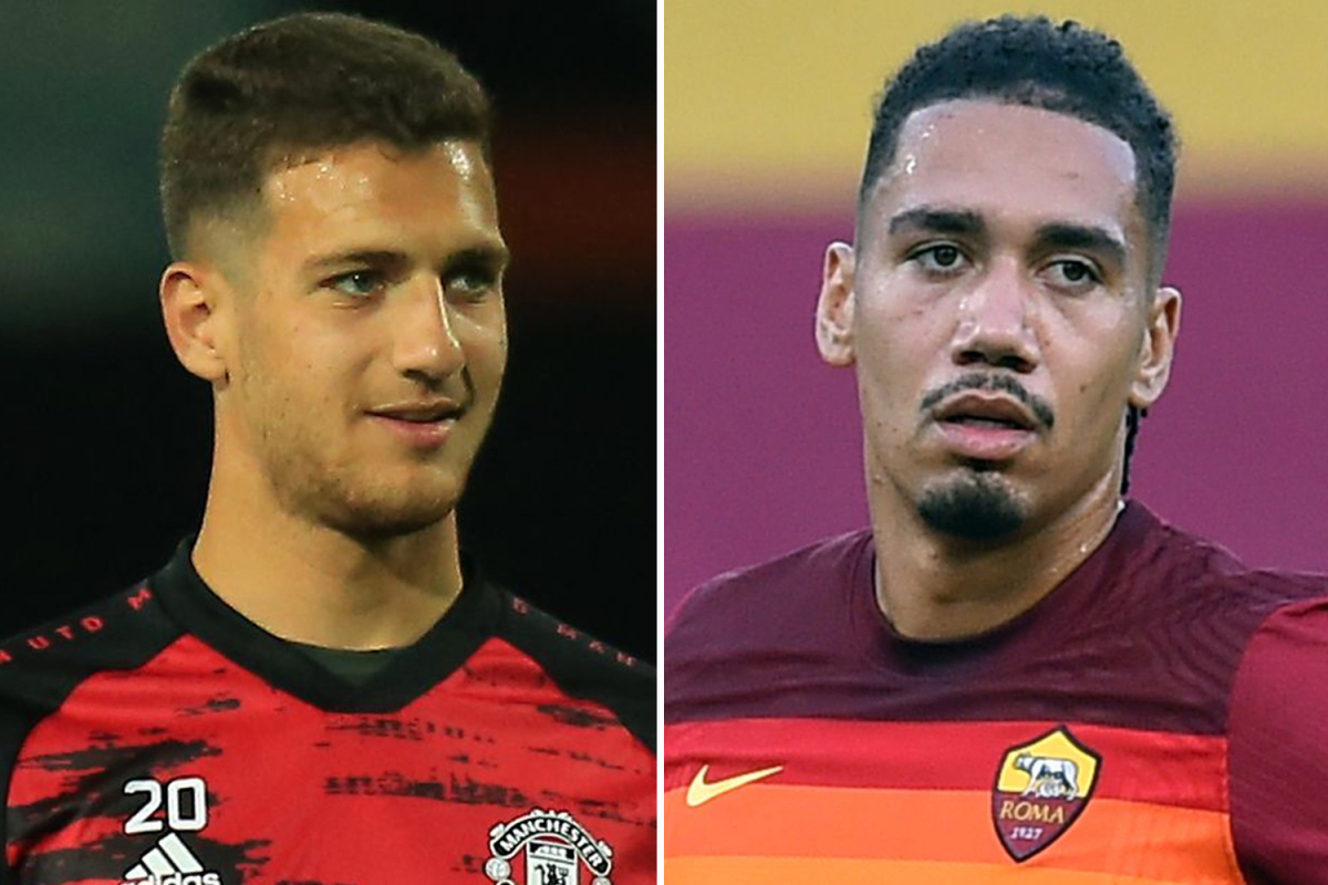 Man Utd star Diogo Dalot in talks with AC Milan over transfer but Roma want him as part of Chris Smalling deal