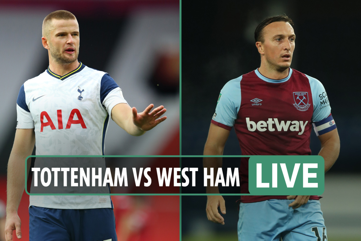 Tottenham vs West Ham LIVE: Stream, TV channel, kick-off time, team news – Bale starts on the bench ahead of debut