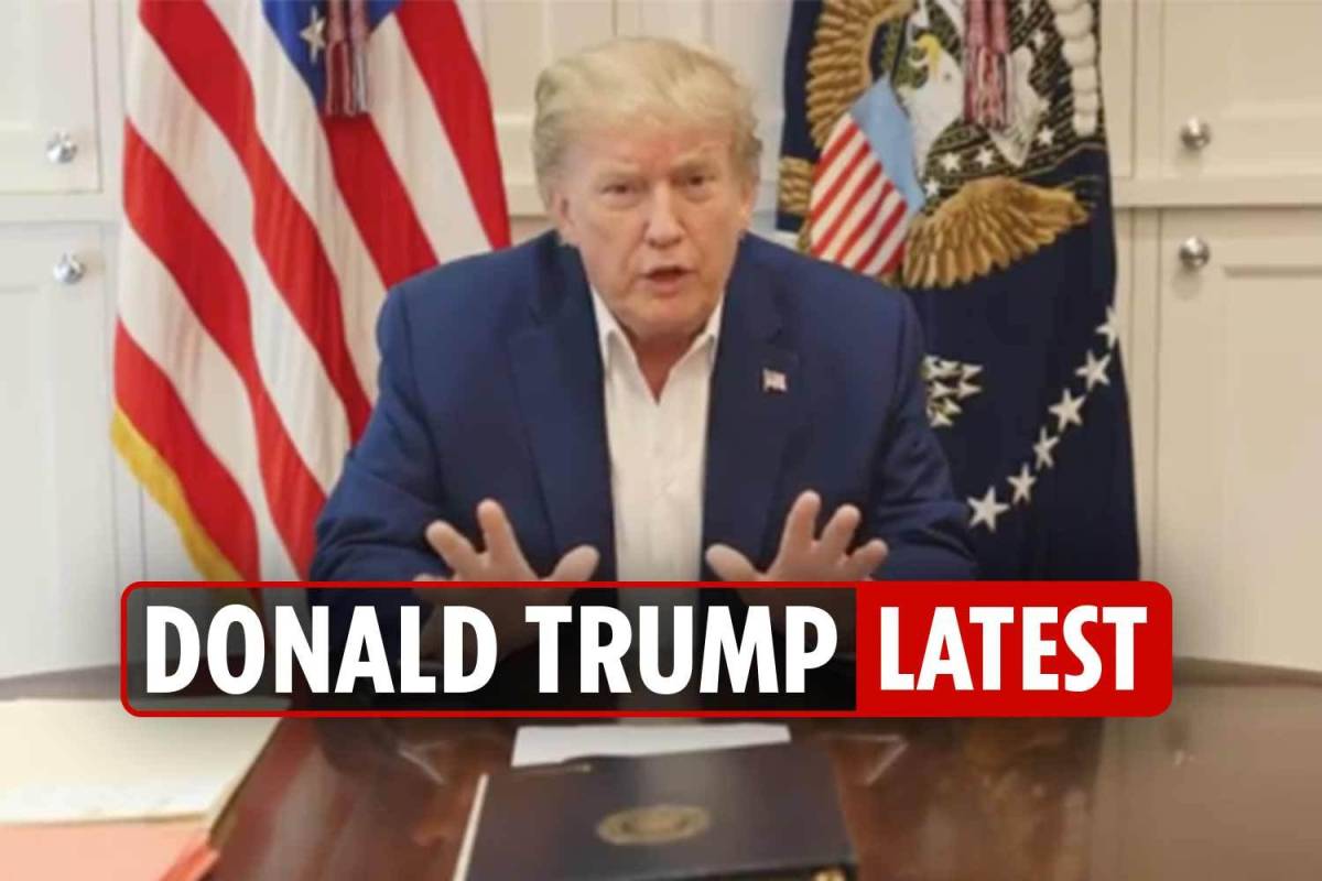Trump covid latest news – President could leave hospital TOMORROW as doctors say he is 'improving'